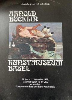 Kuntmuseum Basel - VintageOffset Print after Arnold Bocklin - 1977
