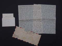 Vita Americana (American Life) - Autograph Letter by Afro - 1950
