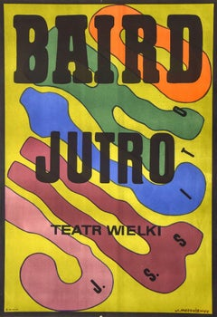 Baird Jutro - Vintage Offset Poster by J. Mtodozeniec - 1974
