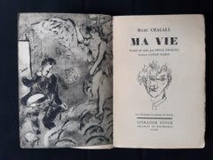 Ma Vie - Vintage Rare Book Illustrated by Marc Chagall - 1931