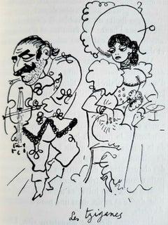 Portraits-souvenirs - Vintage Rare Book Illustrated by Jean Cocteau - 1935