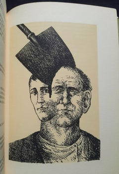 Le Baladin du Monde Occidental - Rare Book Illustrated by R. Topor - 1973