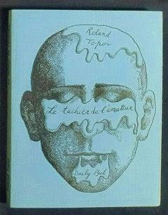 Le Tachier de l'Amateur - Vintage Rare Book Illustrated by Roland Topor - 1971