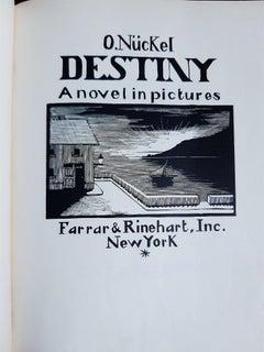 Destiny - Vintage Rare Book Illustrated by Otto Nückel - 1930