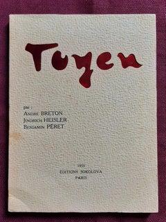 Toyen - Vintage Rare Illustrated Book - 1953