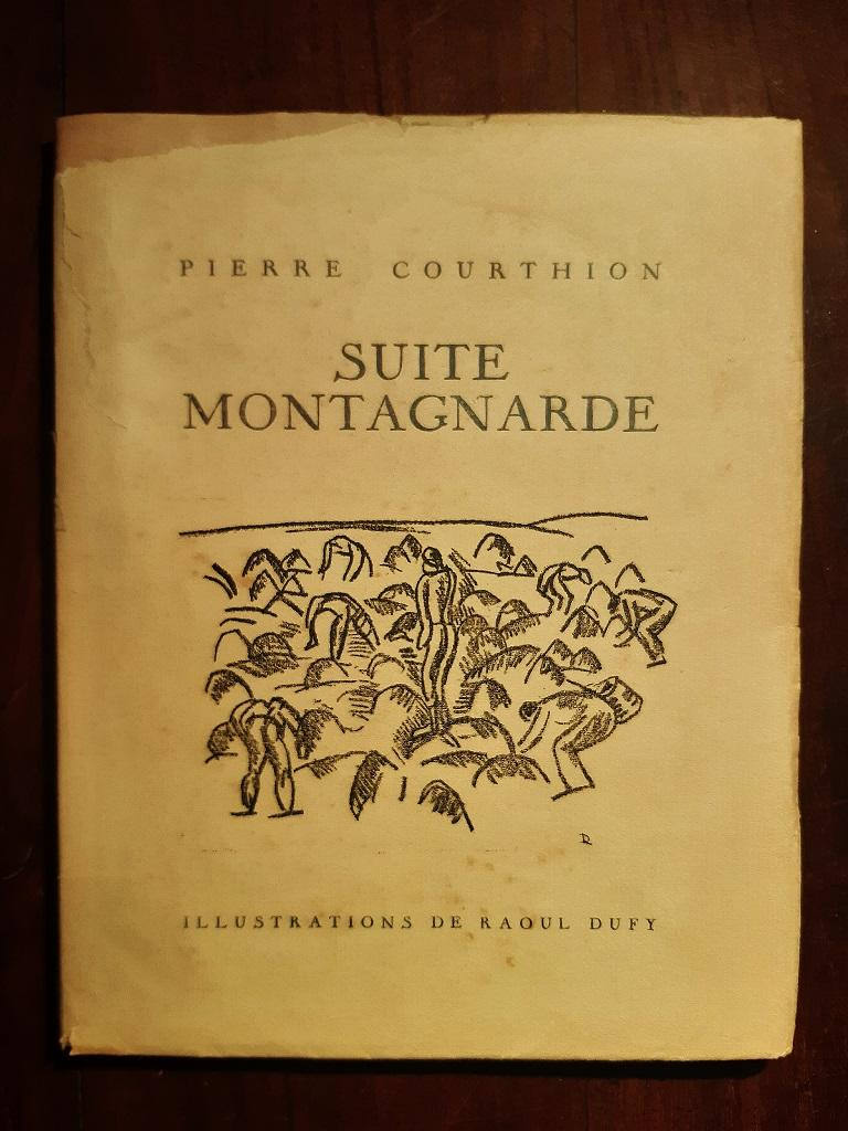 Suite Montagnarde - Vintage Rare Book Illustrated by Raoul Dufy - 1932