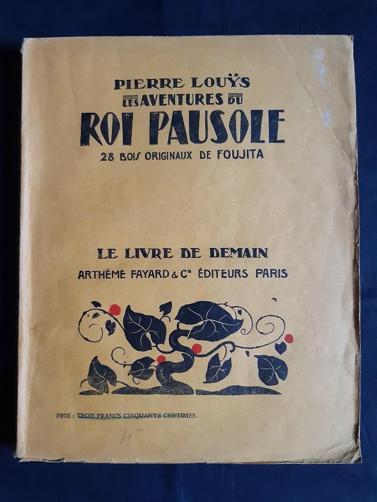 Les Aventures du Roi Pausole - Vintage Rare Book  by L. Foujita - 1934