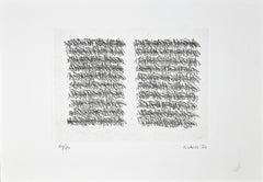 Untitled - Original Etching by Anna Valla - 1991