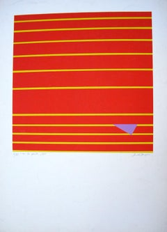 Uno che Spunta - Original Screen Print by Giancarlo Bargoni - Late 20th Century