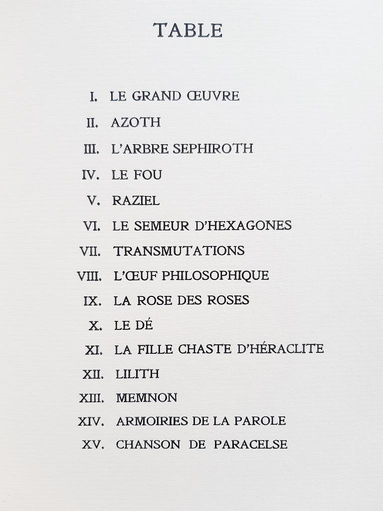 Le Char Triomphal de l'Antimoine-Vintage Rare Book Illustrated by V.Brauner-1949 For Sale 3