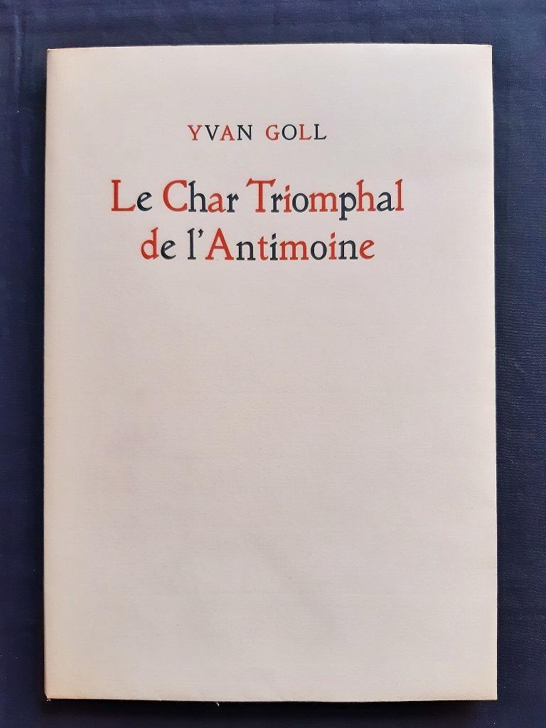 Le Char Triomphal de l'Antimoine-Vintage Rare Book Illustrated by V.Brauner-1949 For Sale 1