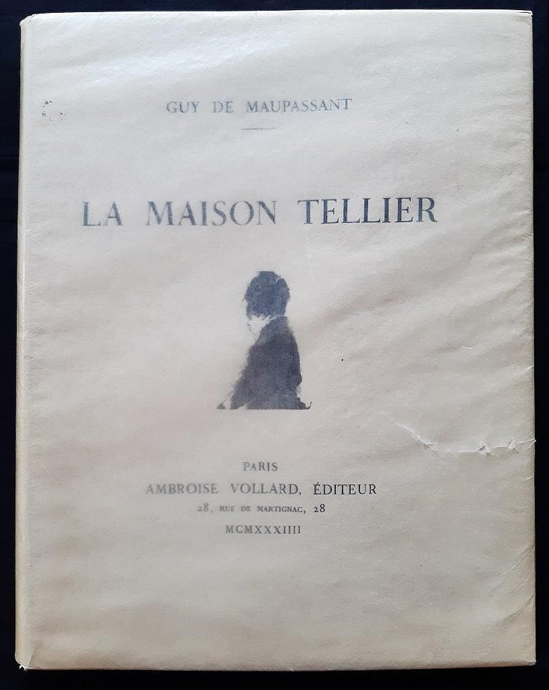 La Maison Tellier - Vintage Rare Book Illustrated after Edgar Degas - 1934 - Impressionist Art by Edgar Degas