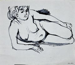1970s Nude Drawings and Watercolors