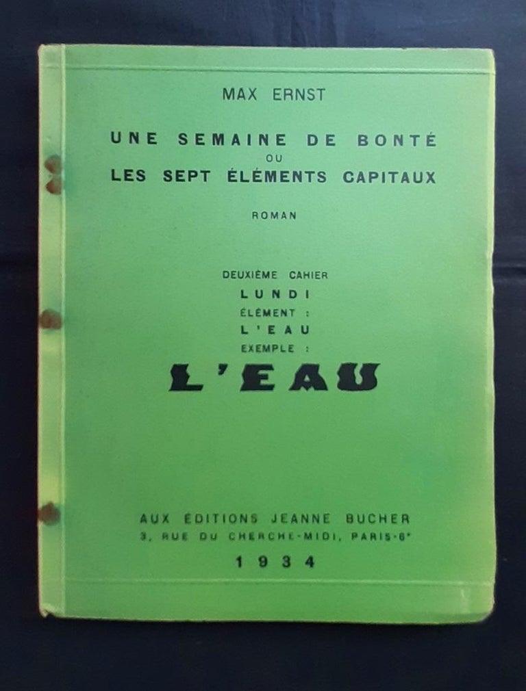 Une Semaine de Bonté - Vintage Rare Book Illustrated by Max Ernst - 1934 For Sale 10