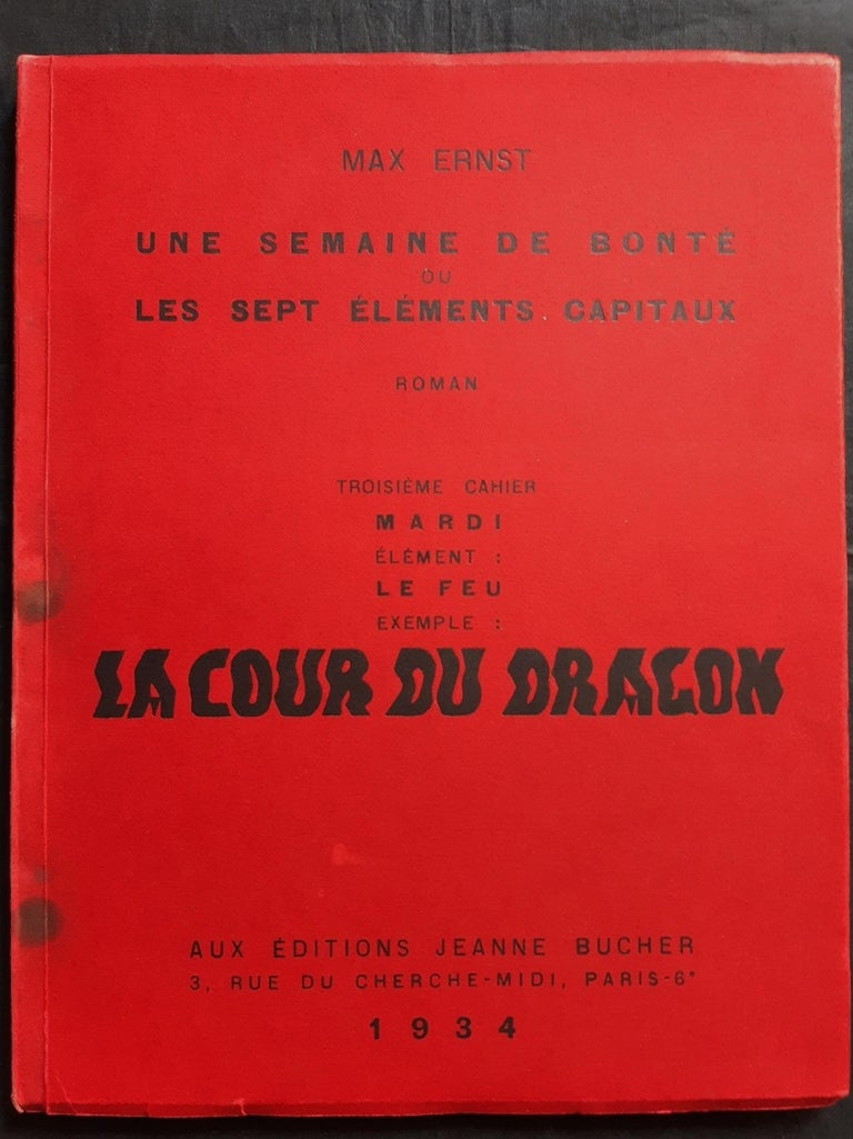 Une Semaine de Bonté - Vintage Rare Book Illustrated by Max Ernst - 1934 For Sale 12
