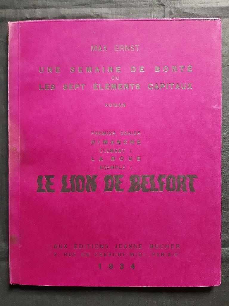 Une Semaine de Bonté - Vintage Rare Book Illustrated by Max Ernst - 1934 For Sale 11