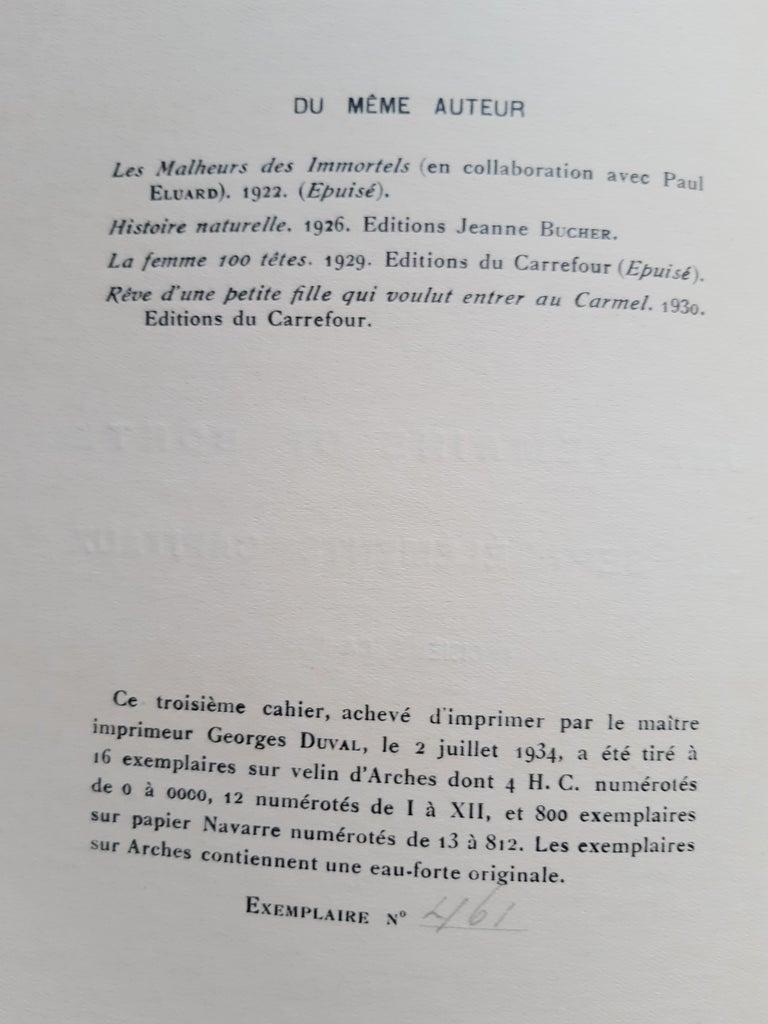 Une Semaine de Bonté - Vintage Rare Book Illustrated by Max Ernst - 1934 For Sale 14