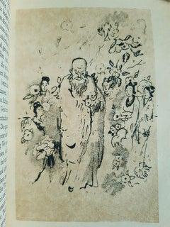 Chinesische Abende - Vintage Rare Book Illustrated by Emil Orlik - 1920