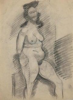 Nude - Original Pencil Drawing - 1940