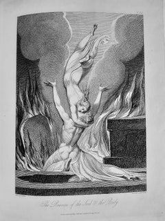 The Grave, a Poem - Vintage Rare Book Illustrated by William Blake - 1808