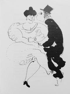 Le Dur Désir de Durer - Original Rare Book Illustrated by Marc Chagall - 1950