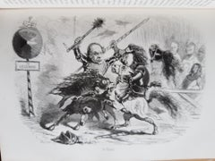 Assemblée Nationale Comique - Vintage Rare Book Illustrated by CHAM - 1850
