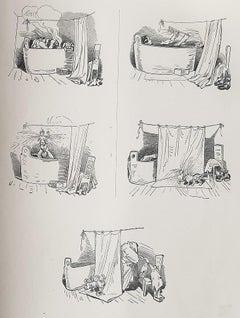 Neues Album - Rare Book Illustrated by Wilhelm Busch - 1925