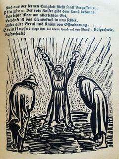Der Findling - Rare Book Engraved by Ernst Barlach - 1922