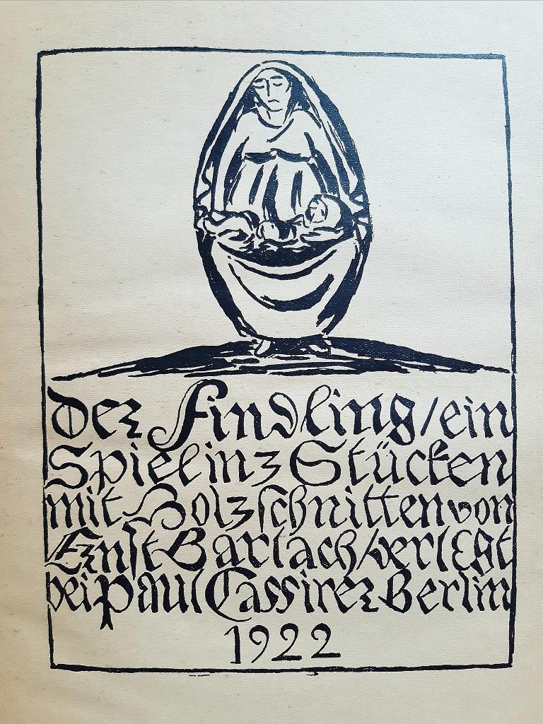 Der Findling - Rare Book Engraved by Ernst Barlach - 1922 For Sale 2