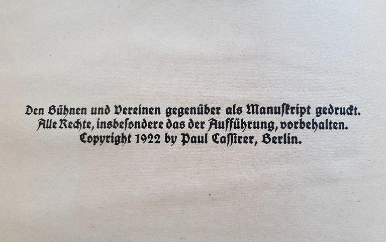 Der Findling - Rare Book Engraved by Ernst Barlach - 1922 For Sale 3