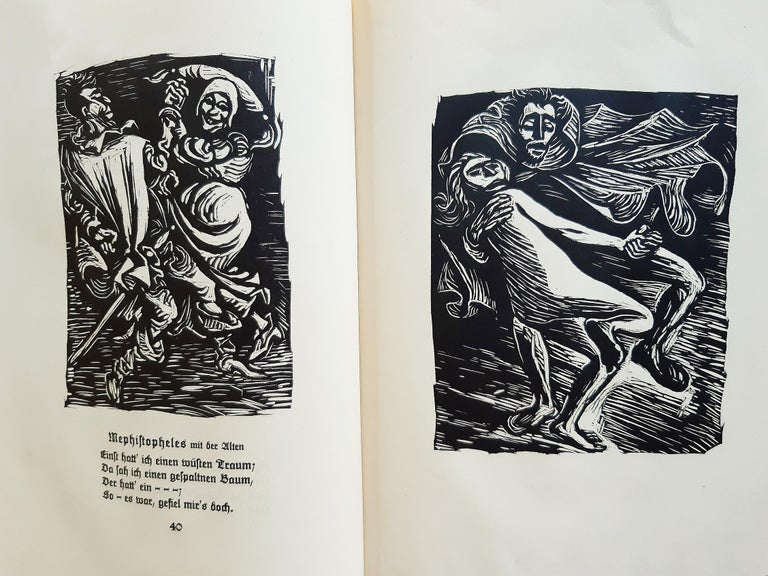 Walpurgisnacht  - Rare Book Illustrated by Ernst Barlach - 1923 For Sale 2