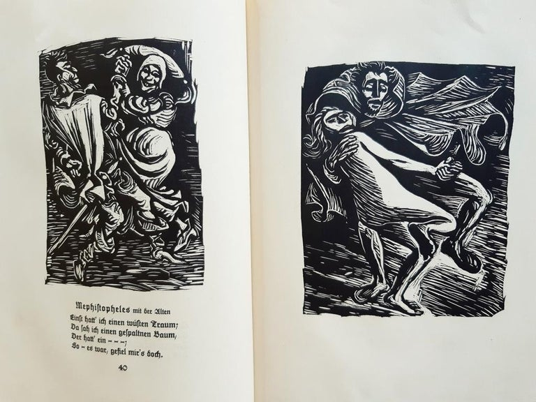Walpurgisnacht  - Rare Book Illustrated by Ernst Barlach - 1923 For Sale 3