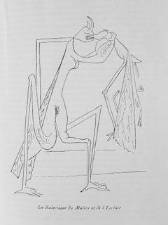 Le Grand Ordinaire - Rare Book Illustrated by Oscar Dominguez - 1943