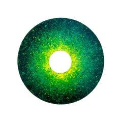 Green Temperature - Original Painting by Luca Cioffi - 2021
