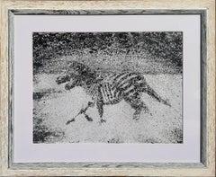 Zebras - Original Painting by Luca Cioffi - 2016