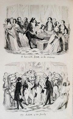 George Cruikshank's Table Book - Rare Book Illustrated by G. Cruikshank - 1845