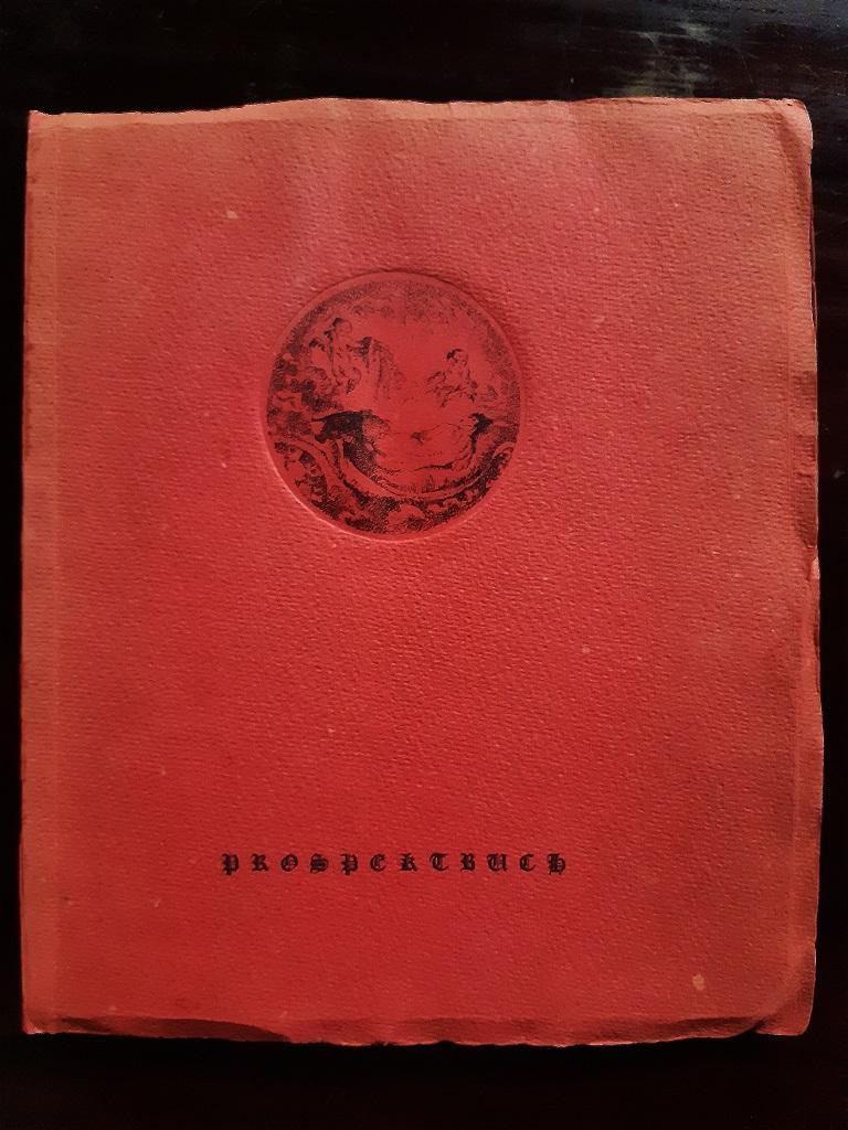 Venuswagen - Original Rare Book Illustrated by Lovis Corinth - 1919 For Sale 6