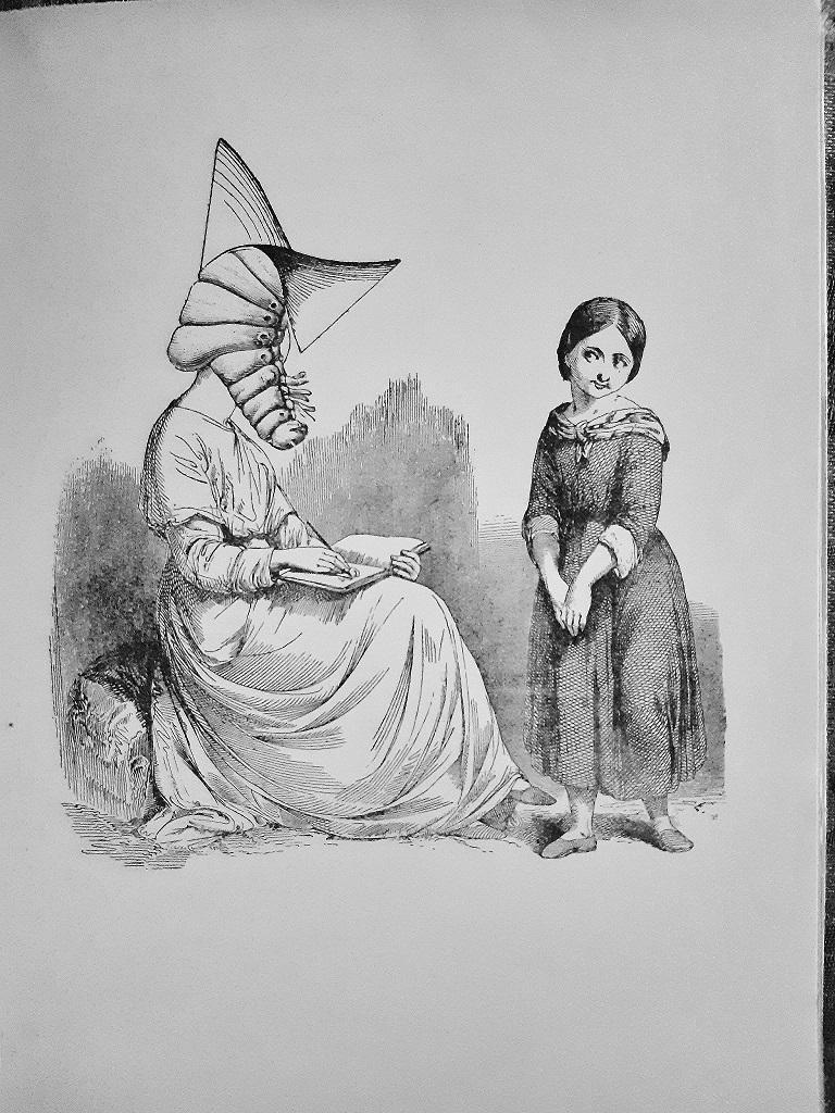 La Dame Ovale - Vintage Rare Book Illustrated by Max Ernst - 1934