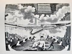 A l'Intérieur de la Vue - Rare Book Illustrated by Max Ernst - 1948