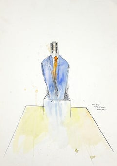 The Boss - Original Ink and Watercolor by Sergio Barletta - 2012