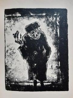 Der Mantel - Rare Book Illustrated by Walter Gramatté - 1919