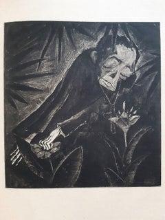 Il Pantegan - Rare Book Illustrated by Walter Gramatté - 1919