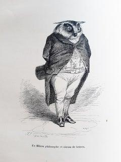 Vie Privée et Publique des Animaux - Illustrations by J.J Grandville - 1842