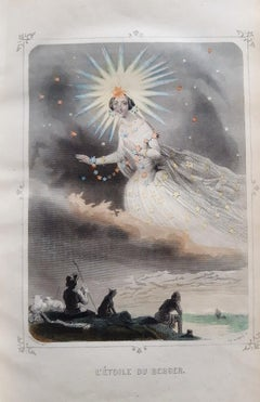 Les Etoiles - Rare Book by J.J Grandville - 1849