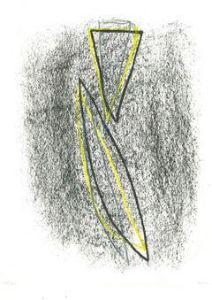 Firefly - Original Lithograph by Nunzio Di Stefano - 1985