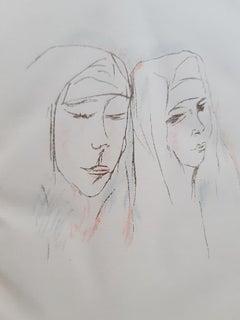 Die Nonnen von Murano - Rare Book Illustrated by Rudolf Grossmann - 1923