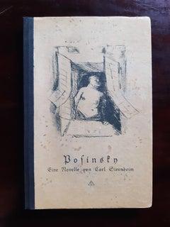 Posinsky - Rare Book by Rudolf Grossmann - 1917