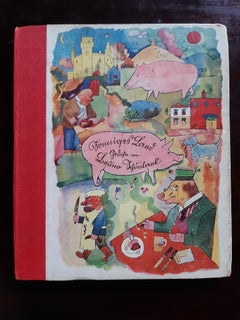 Sonniges Land - Rare Book by George Grosz - 1920