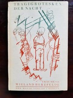 Tragigrotesken der Nacht - Rare Book Illustrated by George Grosz - 1920