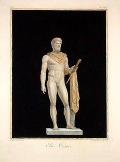 Elio Cesare - Original Etching by Agostino Tofanelli - 1794